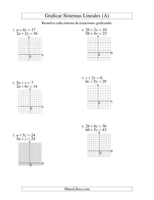 Moderno álgebra Libre De 2 Hojas Molde - hojas de trabajo básicos ...