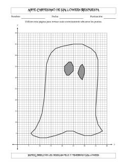 Arte Cartesiano de Halloween -- Fantasma