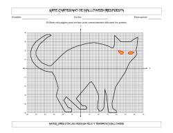 Arte Cartesiano de Halloween -- Gato