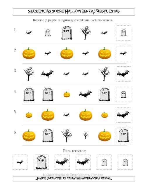 Secuencias de Imágenes Tenebrosas sobre Halloween Cambiando los ...