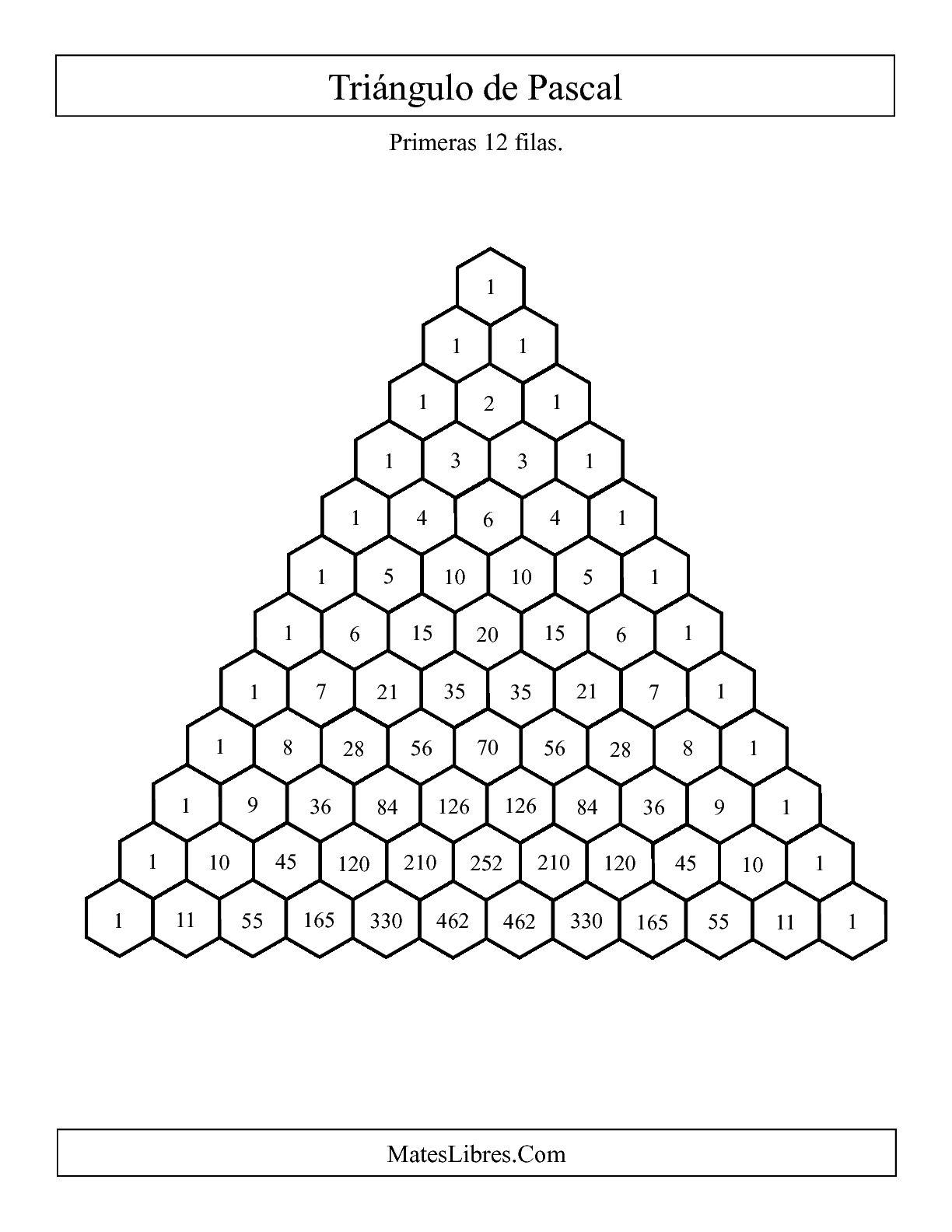 triangulo de pascal pdf